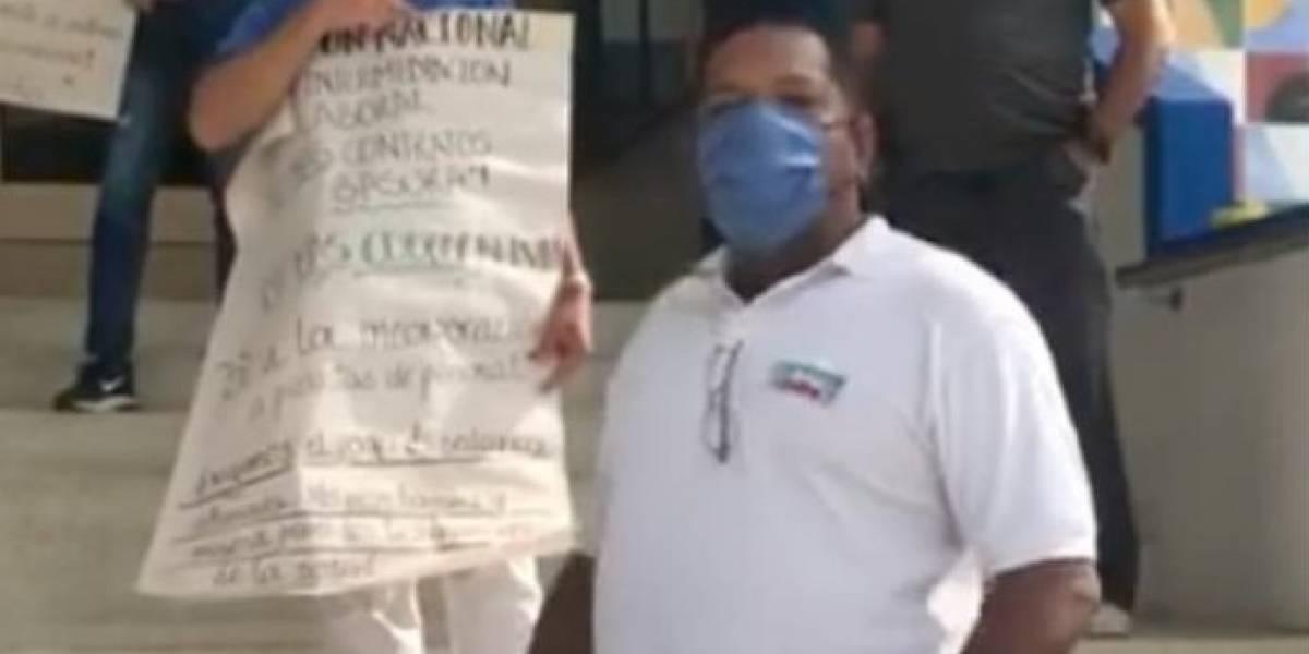Falleció enfermero por coronavirus y no le habían pagado sueldos atrasados