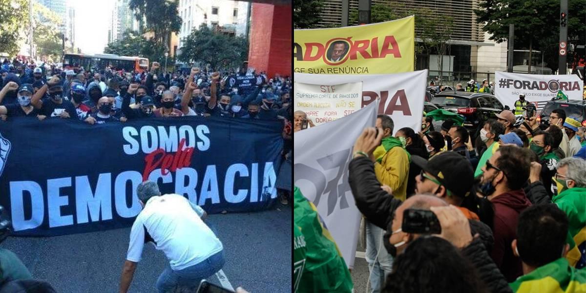 Avenida Paulista terá 'rodízio' de manifestações pró e contra Bolsonaro