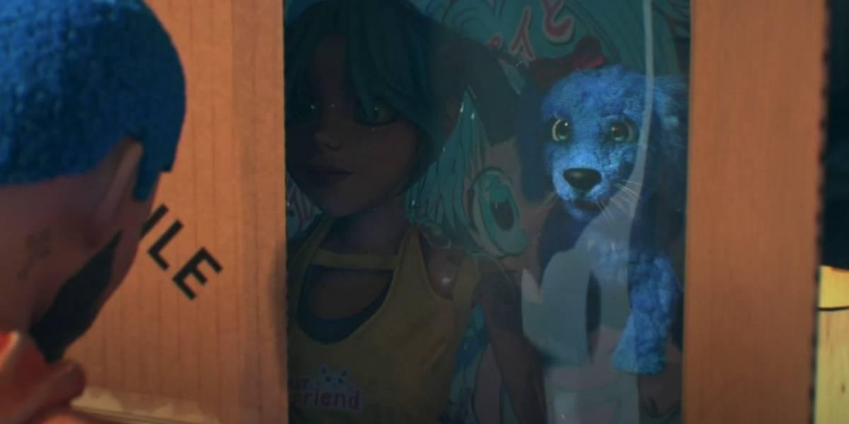 """J Balvin compartió su nuevo video """"Azul"""" de su reciente álbum """"Colores"""""""
