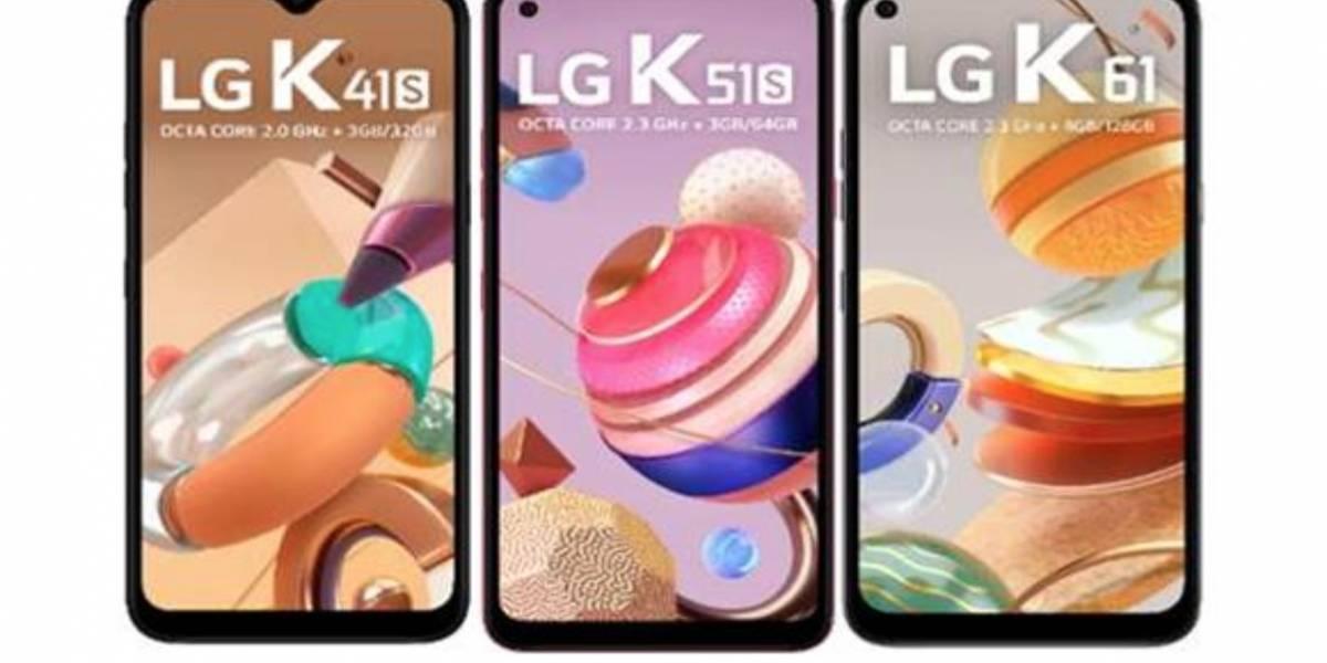 Tecnologia: LG apresenta nova Série K 2020 de smartphones no Brasil: K41S, K51S e K61
