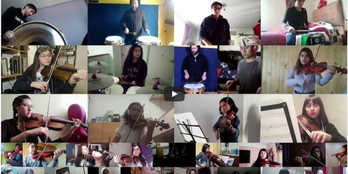 """Más de 170 estudiantes participan en grabación online del """"Himno de la Alegría"""" de Beethoven"""