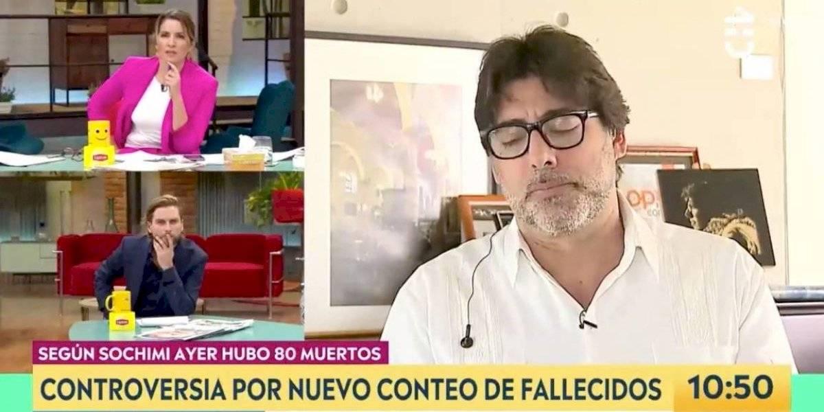 """""""Se le nota un poco tensa"""": la áspera discusión entre el alcalde Jadue y Monserrat Álvarez por las residencias sanitarias"""