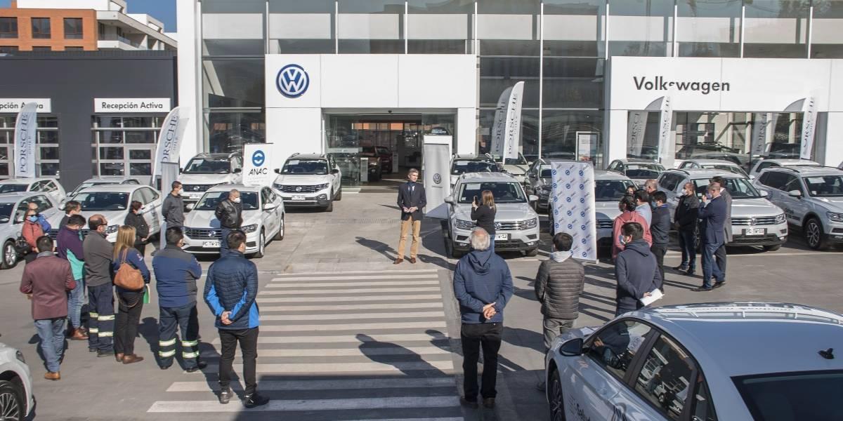 """Volkswagen se suma a la campaña del Minsal """"Salud a tu casa"""" con flota de 35 vehículos"""