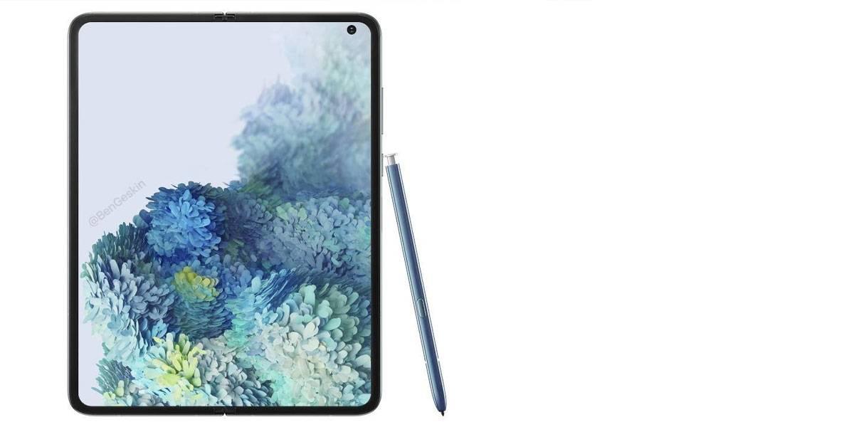 Samsung Galaxy Fold 2 vendría sin una S Pen integrada para no dañar la pantalla