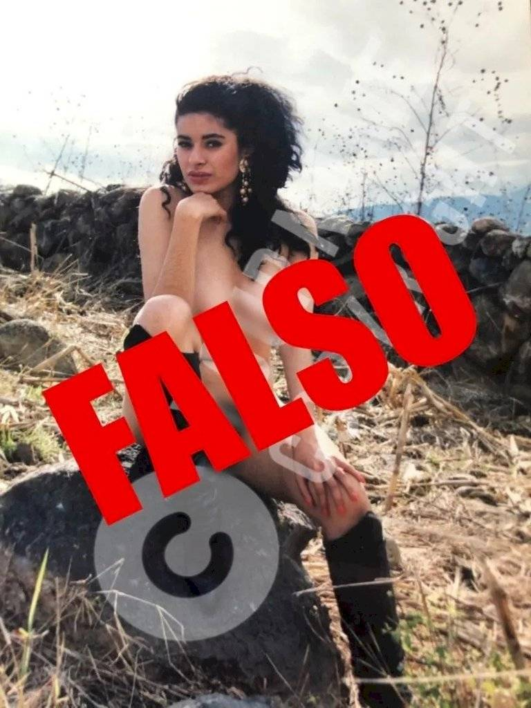 Galilea Montijo publicó las fotos privadas con la que intentaron chantajearla