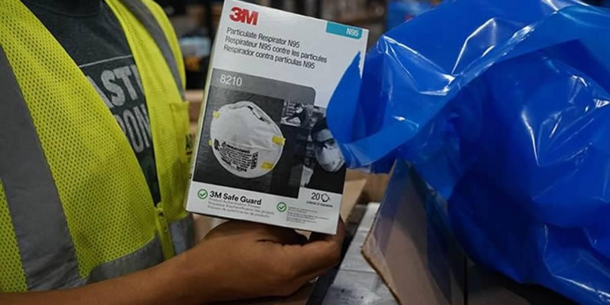 3M demandó a un vendedor externo de Amazon por vender mascarillas N95 falsas