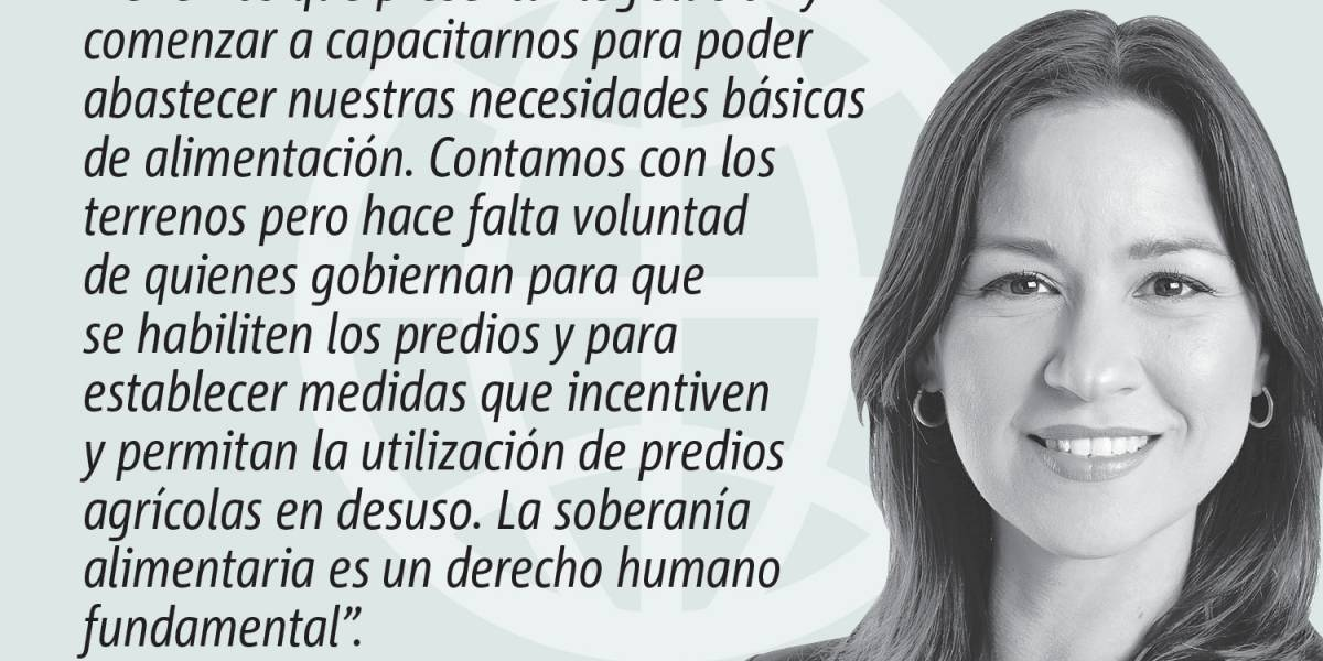 Opinión de Rosa Segui: La soberanía alimentaria: un derecho humano fundamental