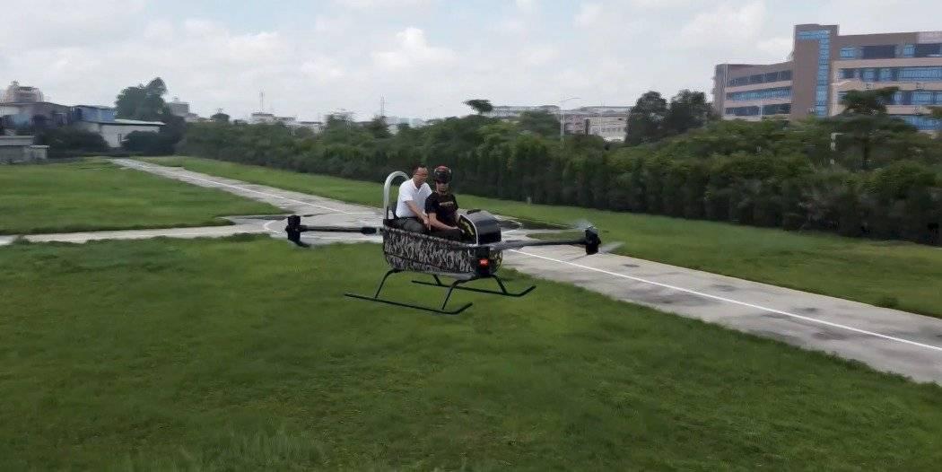 Helicóptero de dos asientos podría cambiar la aviación urbana