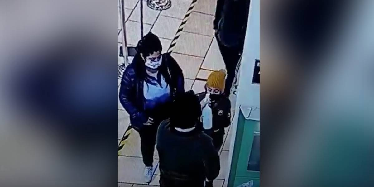 (VIDEO) Hombre rocía desinfectante en ojos de niña en vez de tomarle la temperatura