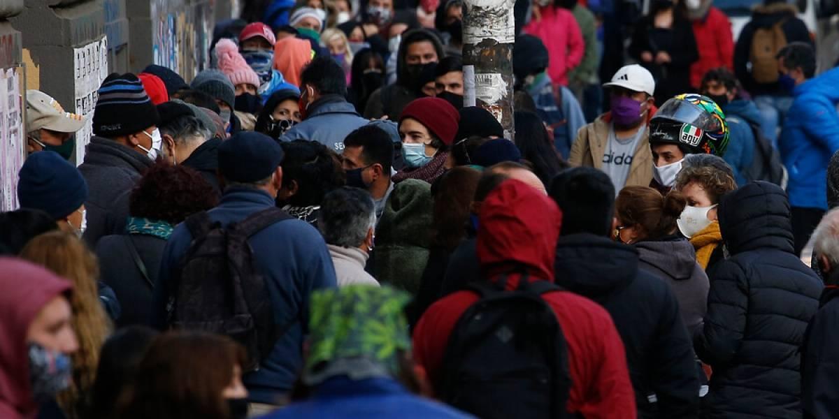Caos, aglomeraciones e intentos de saqueos marcan la jornada previa a la cuarentena total en Valparaíso