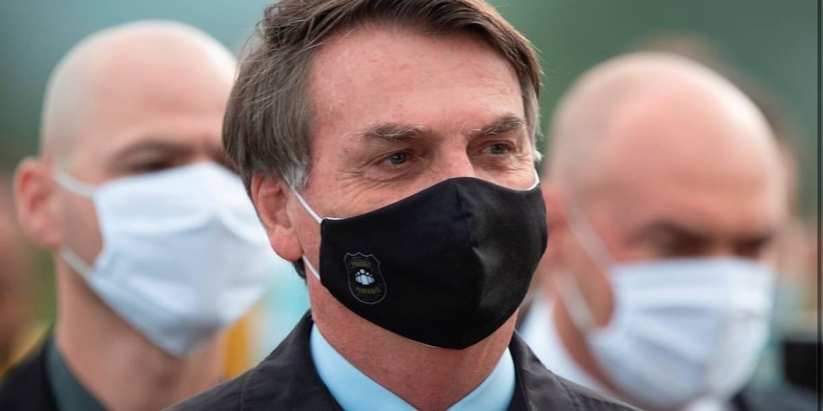 """""""¡Es inaceptable!"""" Jair Bolsonaro explotó y arremetió contra quienes atacaron a periodistas"""