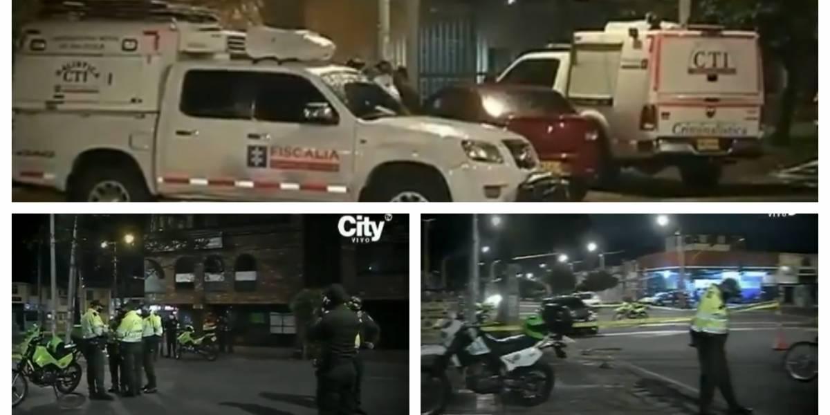 (VIDEO) Tiroteo en Bogotá deja un ladrón muerto y otro herido