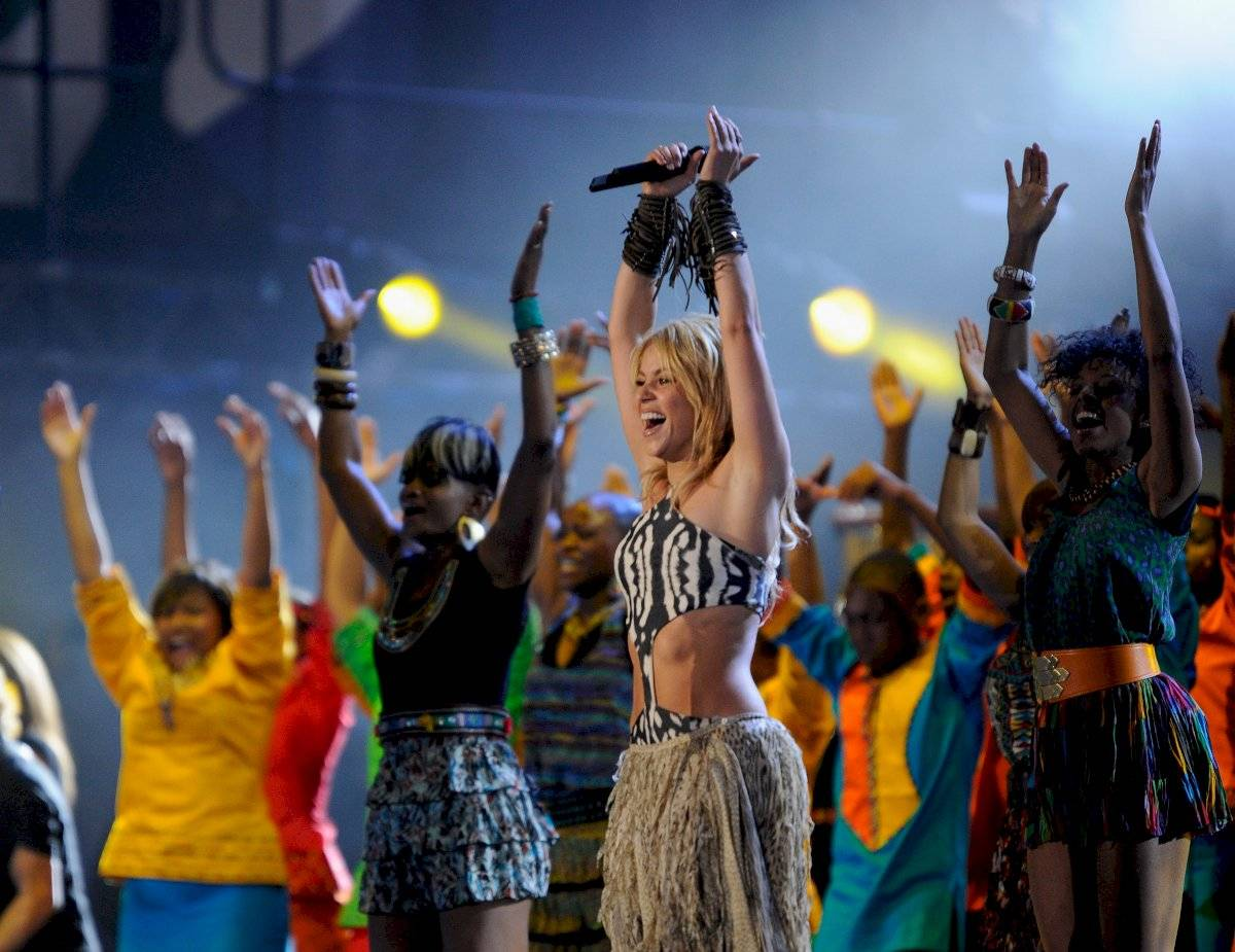 Shakira in south Africa