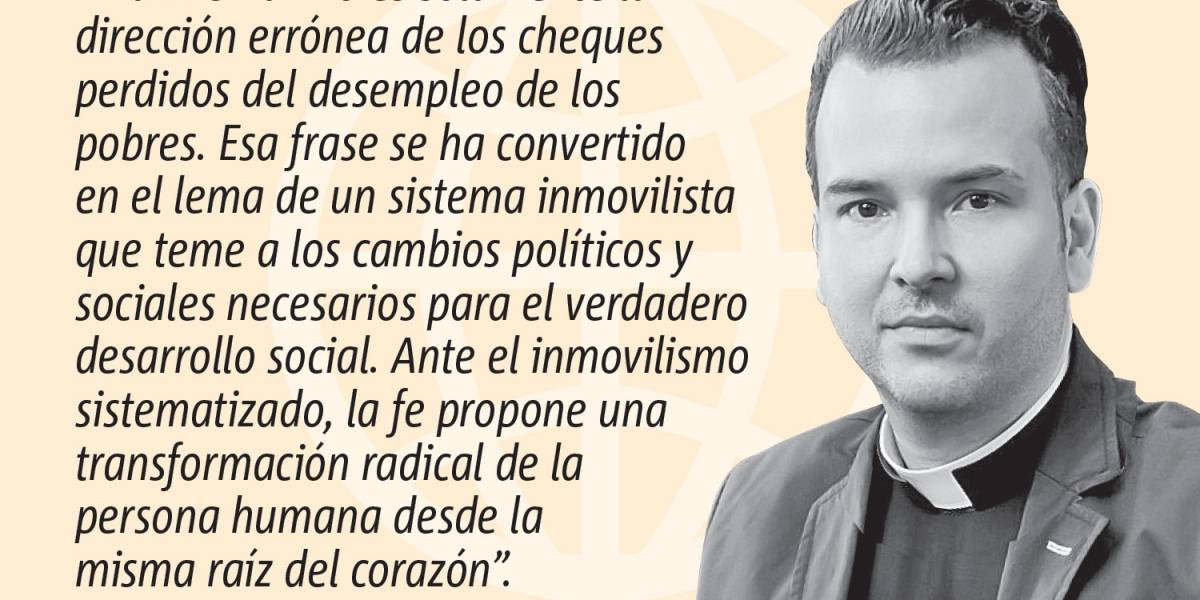 """Opinión del Padre Orlando Lugo: """"La misma""""… cosa"""