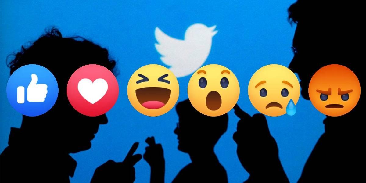 Twitter estaría probando reacciones a lo Facebook en las publicaciones