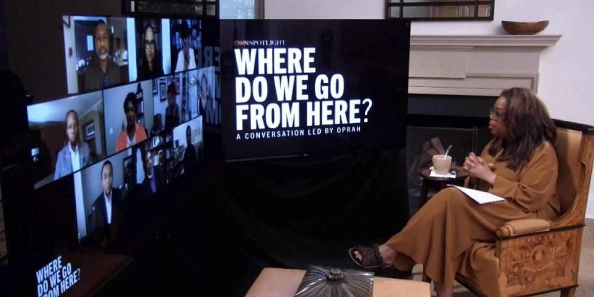 """Oprah Winfrey presentara el especial """"¿Hacia dónde vamos?"""" sobre racismo sistemático"""