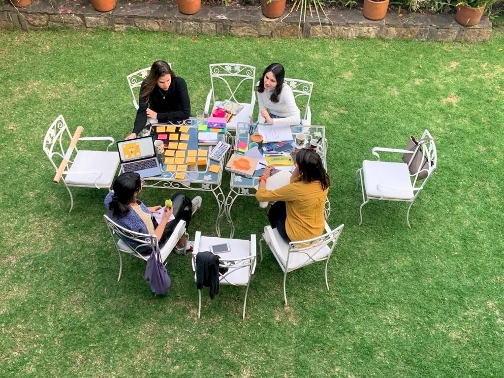 4 mujeres se unieron para crear esta iniciativa.