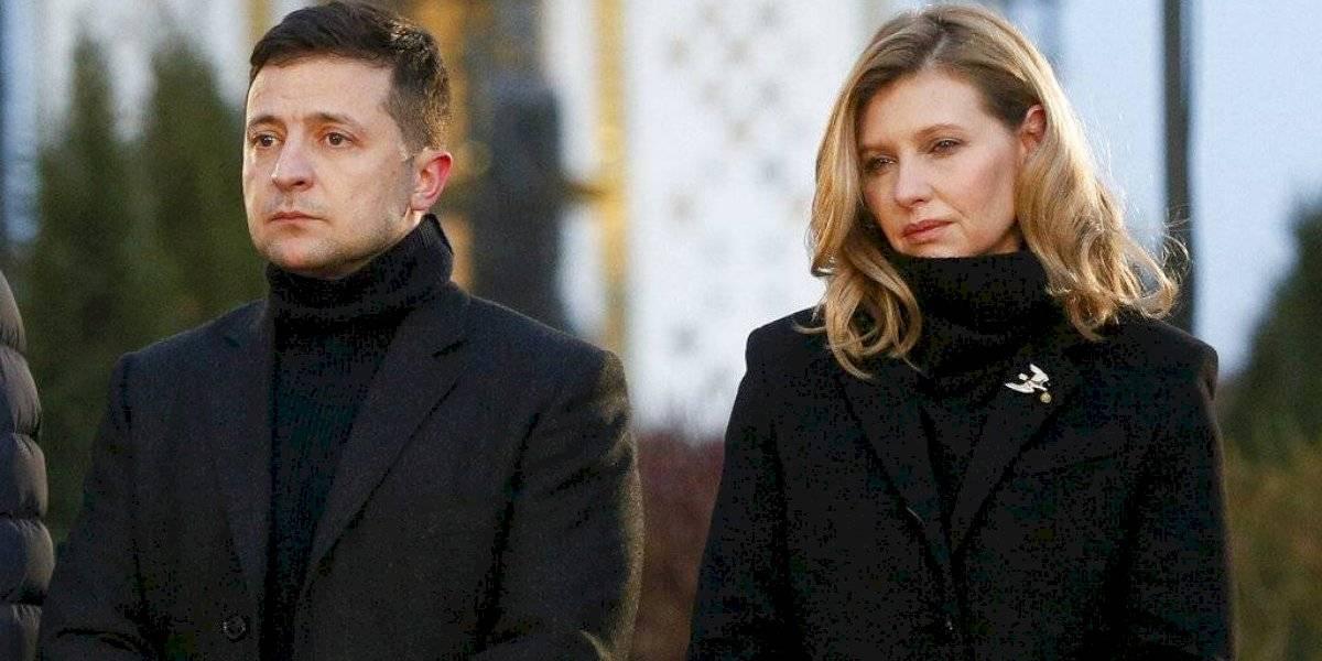 Primera dama de Ucrania da positivo a coronavirus