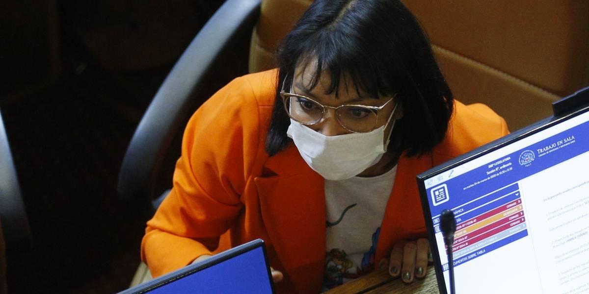 La denuncia de diputada Castillo: le llegó caja de alimentos del Gobierno