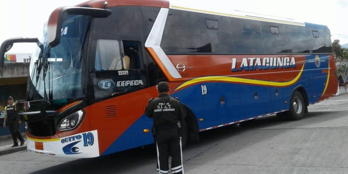 COE Nacional aprobó reactivación del servicio de transporte interprovincial desde el 15 de junio