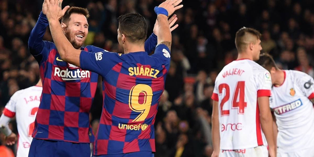 Mallorca vs. Barcelona | ¡El can blaugrana, otra vez en manos de Messi!