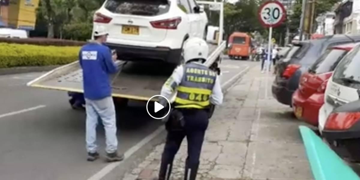 Agentes de tránsito le quitaron vehículo a embarazada que iba al hospital con dolores