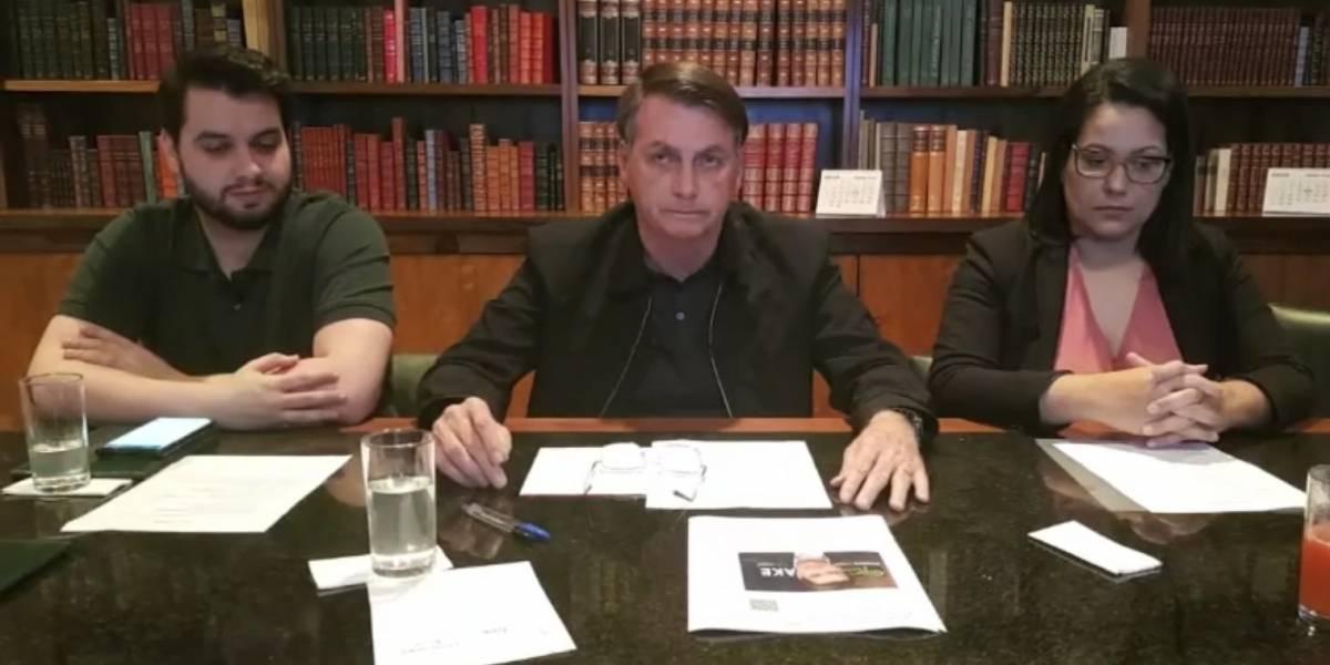 'Queiroz não estava foragido; foi feita uma prisão espetaculosa', diz Bolsonaro