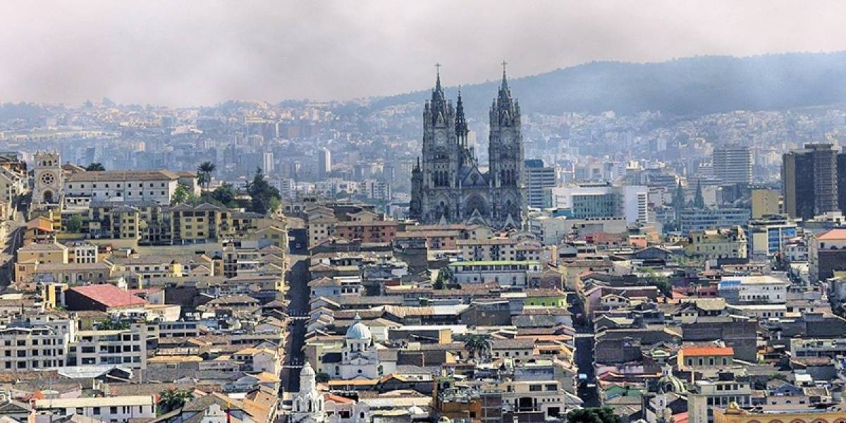 Calidad del aire en Quito no registra afectaciones tras emisión de ceniza del volcán Sangay