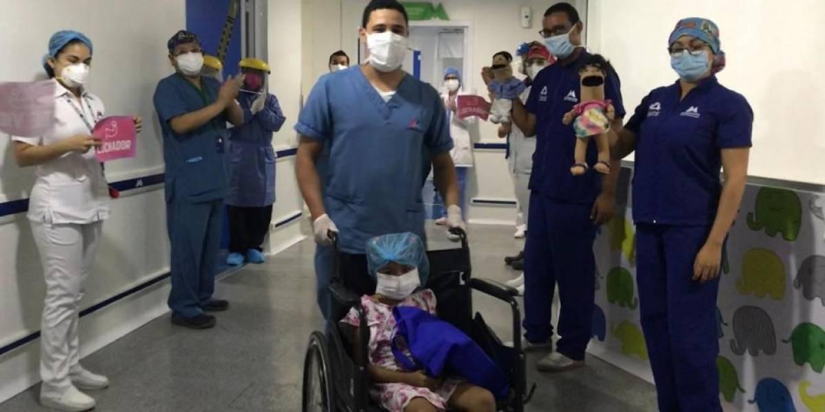 ¡Qué bendición! Niña de 8 años con enfermedad de la sangre venció el coronavirus