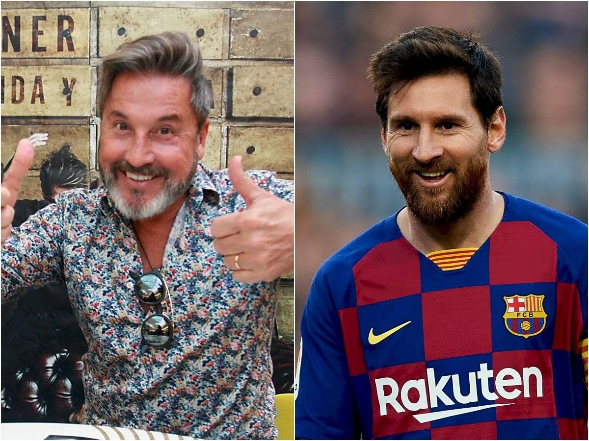 Han surgido diferentes memes sobre el parecido entre Ricardo Montaner y Leonel Messi