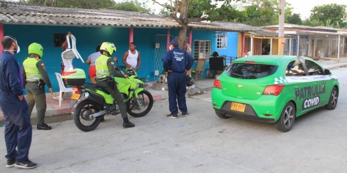 Así es la lucha contra el virus en los cercos sanitarios en Barranquilla y Cartagena