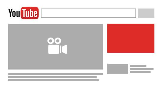 Youtube comerciales