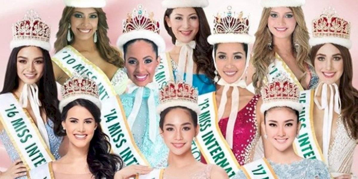 ¡Oficial! Miss Internacional cancela su edición 2020 por el coronavirus