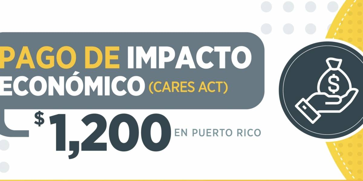 Faltan 500,000 personas por recibir el incentivo federal de los $1,200