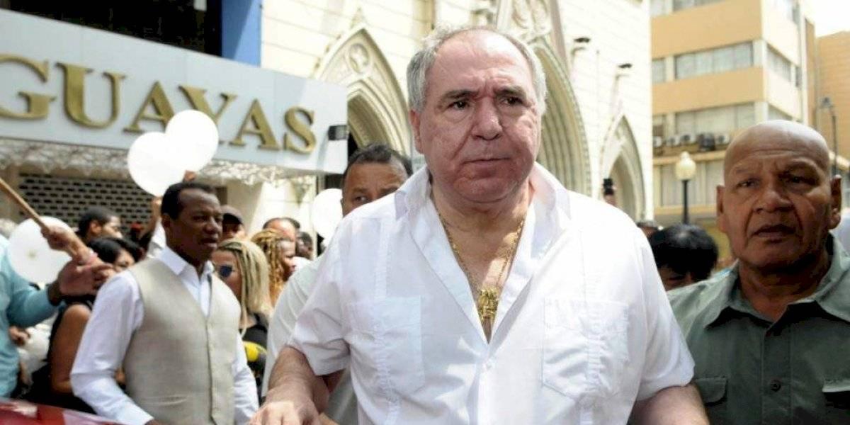 Abdalá Bucaram reacciona a orden de captura contra Dalo y Gabriela Pazmiño