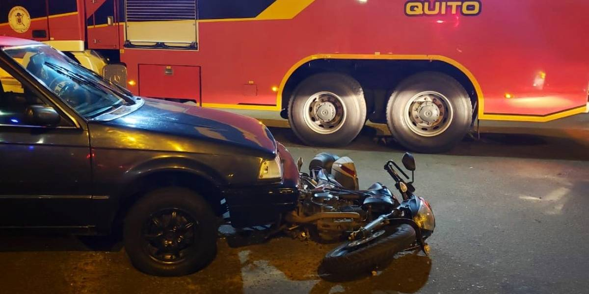 Quito: varios accidentes de tránsito durante la madrugada del 13 de junio