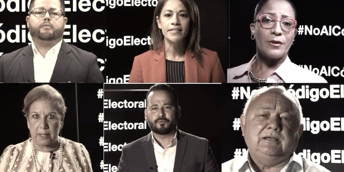 Asociación de Alcaldes pide a la Gobernadora que vete el Código Electoral