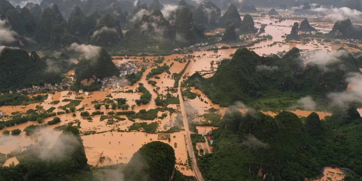Tormentas causan cinco muertes en las últimas inundaciones al sur de China