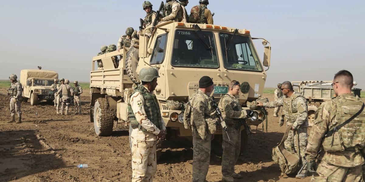 Ejército iraquí reporta ataque con dos misiles a base militar