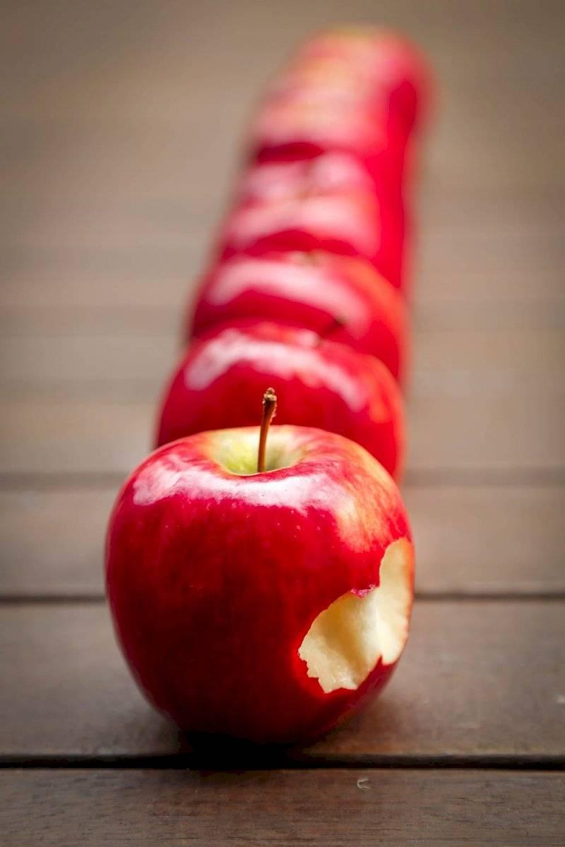 Mascarilla casera de manzana y naranja para el rostro
