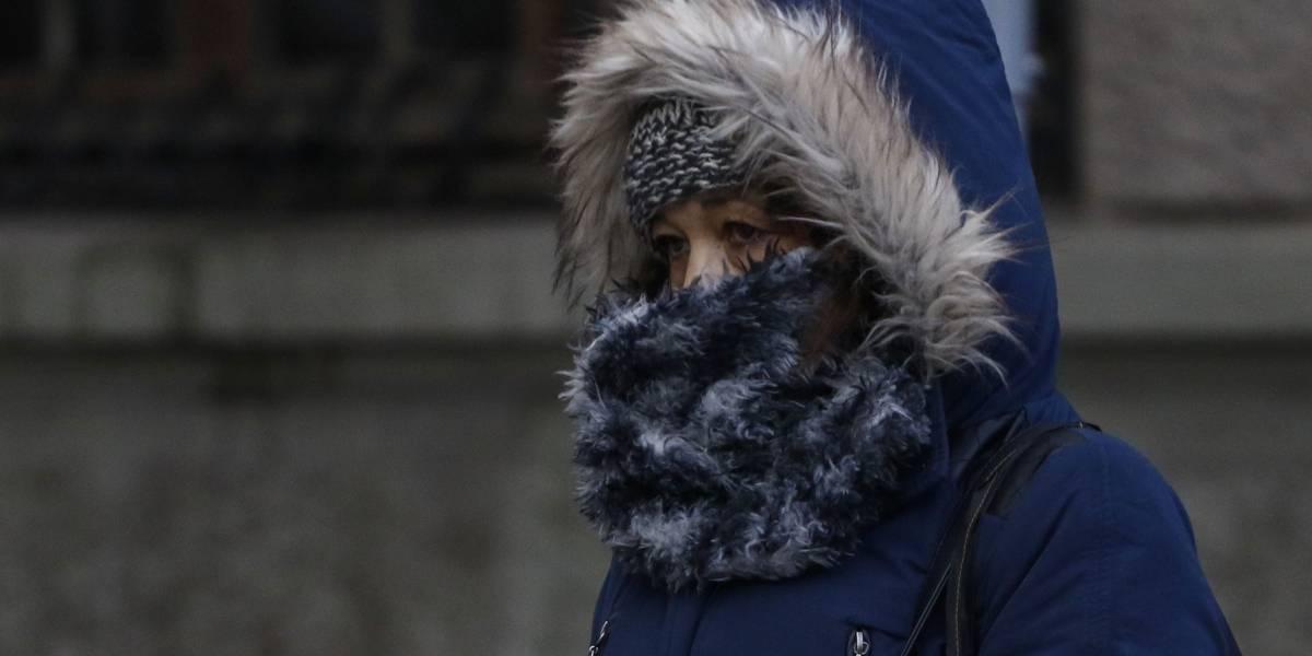 Bajas temperaturas se mantendrán la próxima semana: el martes subirá levemente la mínima a 8 grados