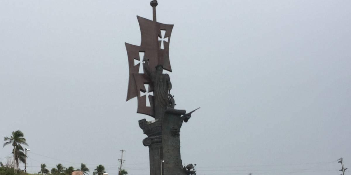 Lanzan petición para remover estatua de Colón en Arecibo