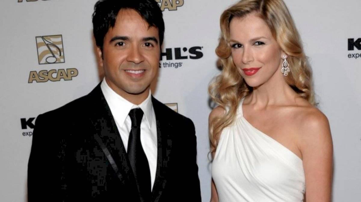 La esposa de Luis Fonsi no pudo contenerse al ver la sexi foto que había subido el intérprete