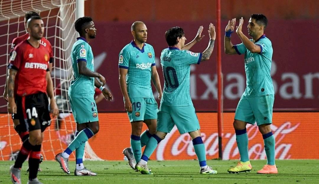 Barcelona regresó luego de 98 días de paralización