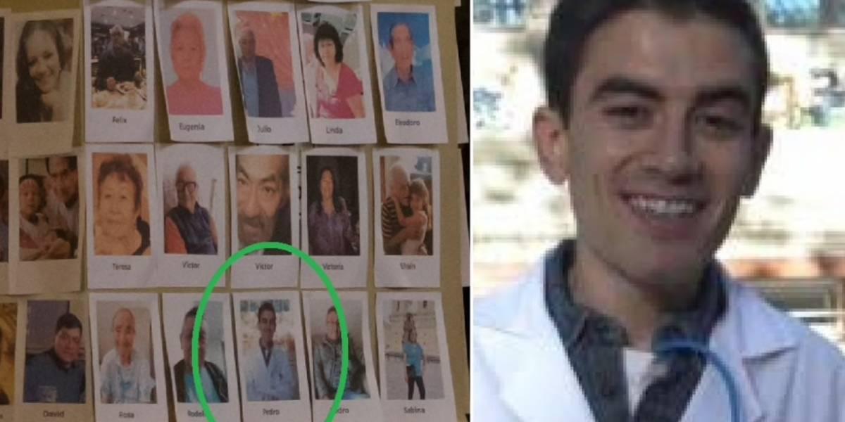 Estalla polémica por homenaje en la catedral de Lima con más de 5.000 fotos de muertos por coronavirus: una imagen era de un actor porno