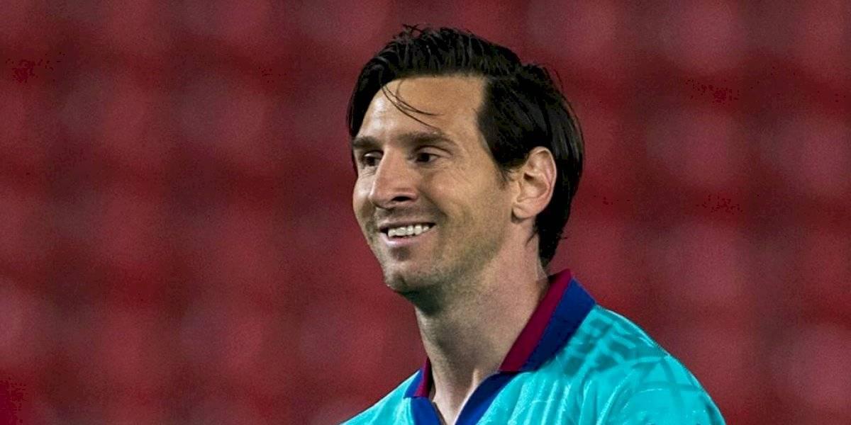 Lionel Messi alcanza un récord inédito en la Liga española