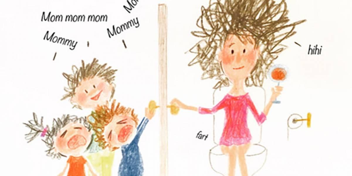 Diário da quarentena: ilustradora desenha sua rotina com quatro filhos