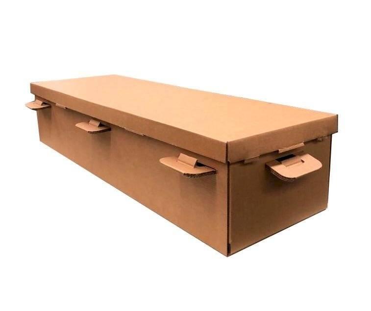 ataúd de cartón