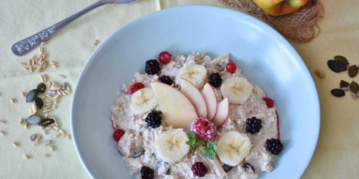 Desayuno con avena y manzana: Una opción saludable y deliciosa