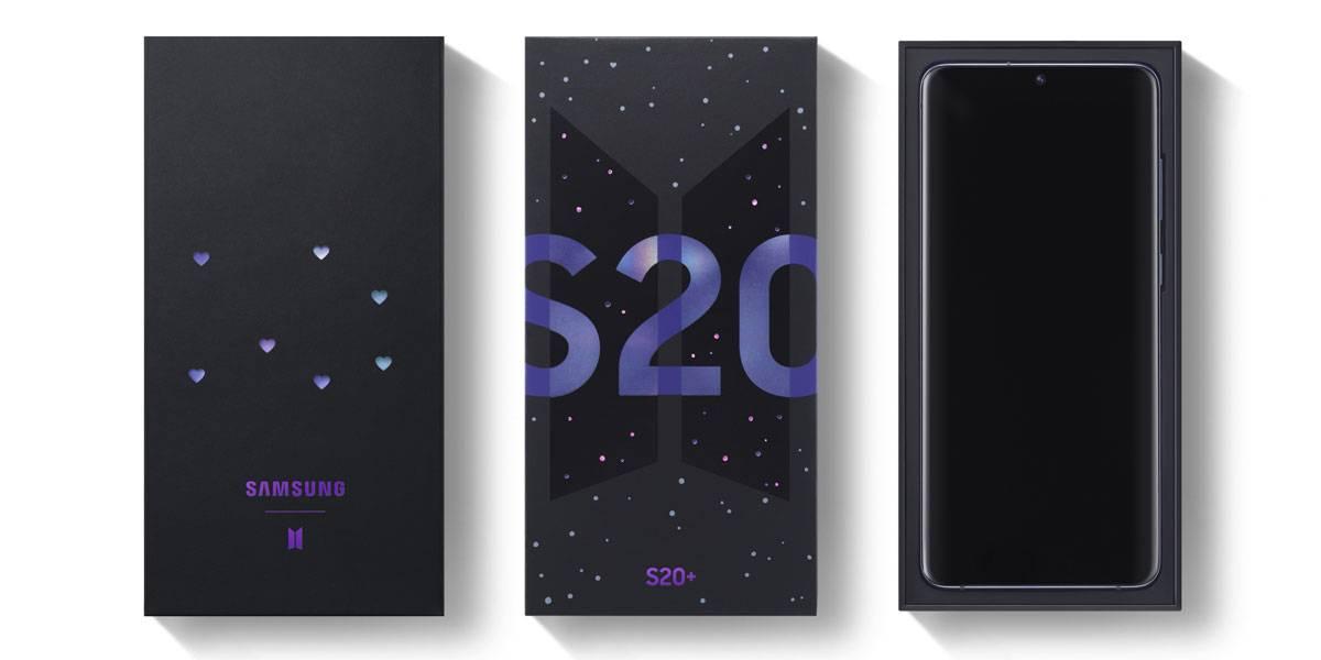 Samsung Galaxy S20+ BTS Edition es anunciado oficialmente: indispensable para fans